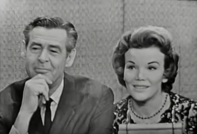 nanette fabray 1962, robert ryan, 1960s television quiz shows, whats my line, 1960s broadway plays, mr president costars