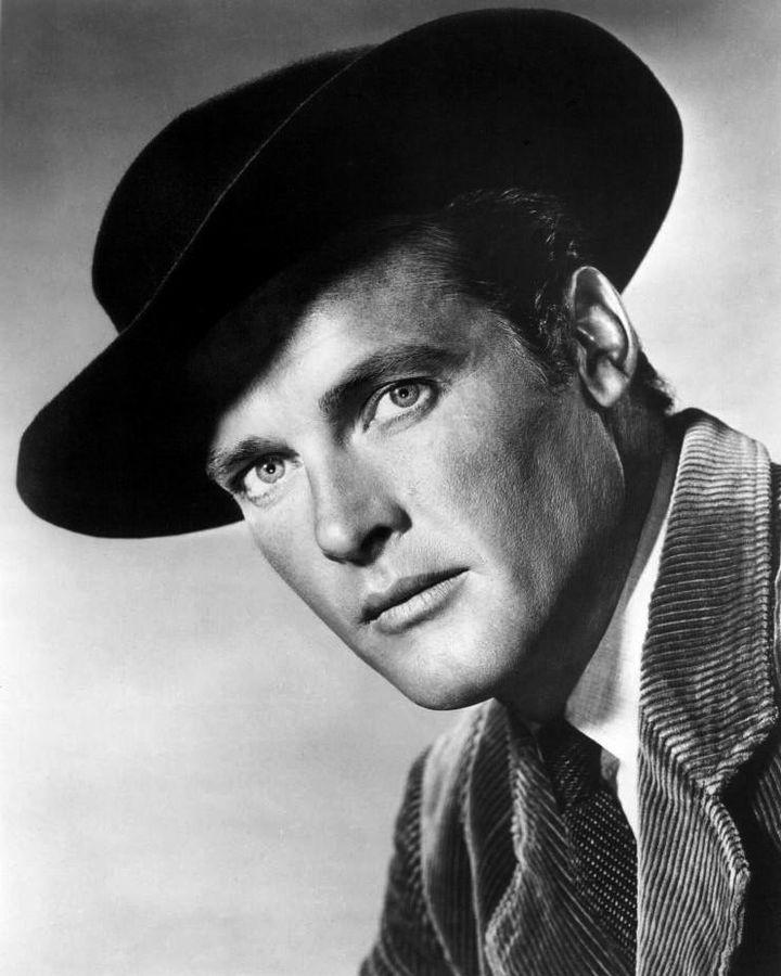 roger moore 1960, english actor, 1960s television series, beau maverick