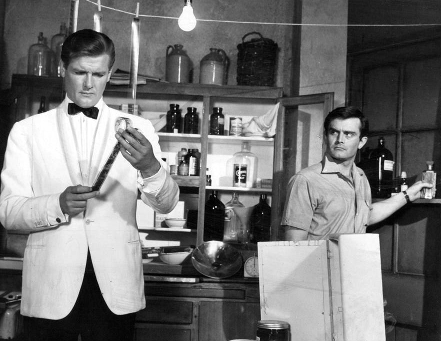 roger moore 1969, english actor, 1960s tv shows, 1960s spy series, guest stars earl green, younger