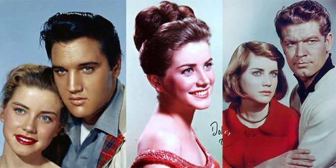 dolores hart, elvis presley, stephen boyd, lisa, 1963, king creole, loving you