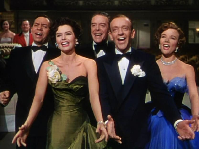 nanette fabray, the band wagon, cyd charisse, fred astaire, oscar levant, jack buchanan, 1953