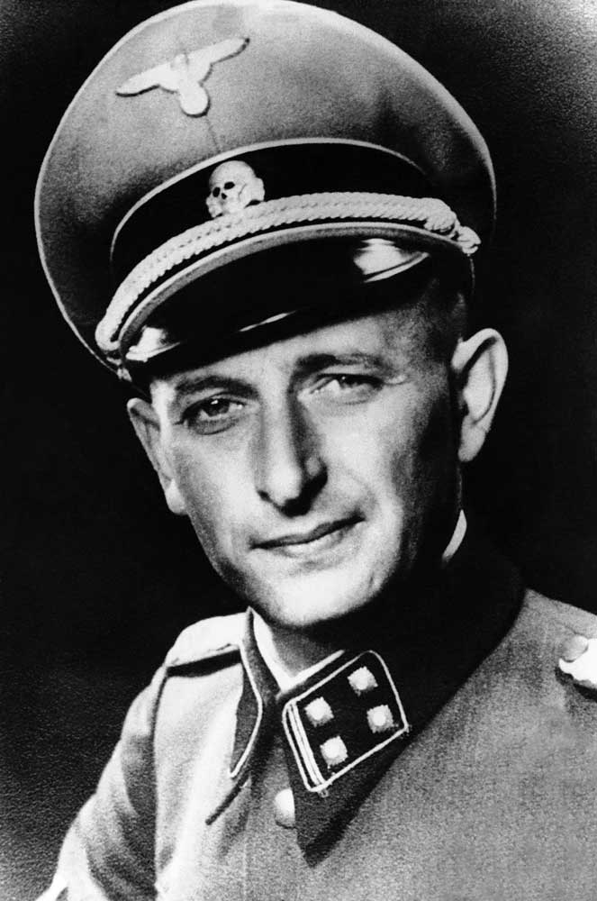 1946, january, adolf eichman, captured, argentina, nazi ss officer