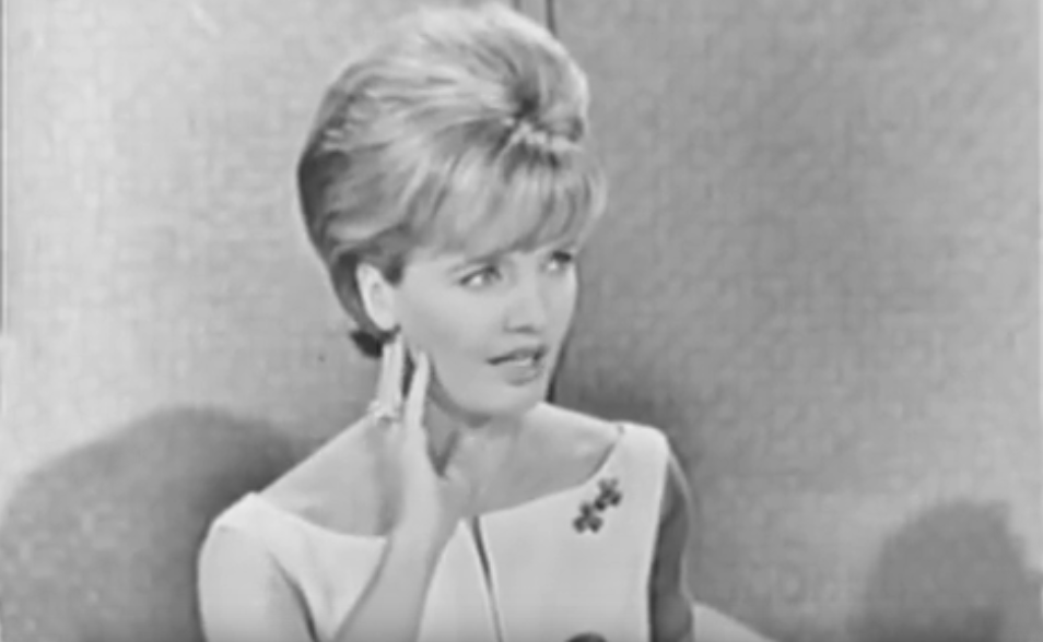 florence henderson 1964, american singer, actress, 1960s television series, 1960s tv game shows, game show panelist, to tell the truth