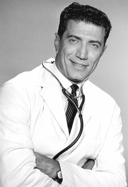joseph campanella 1965, american actor, 1960s television series, the doctors and the nurses, dr ted steffen