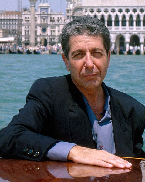 leonard cohen 1988, younger, canadian singer, songwriter, hit singles, hello maryanne, died 2016, born