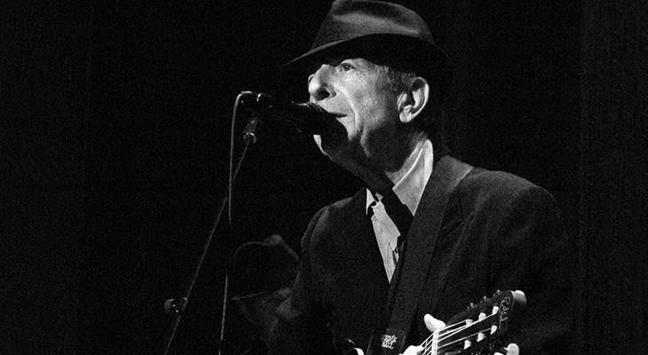 leonard cohen 2008, canadian musican, singer, songwriter, leonard cohen performing, hit songs, hallelujah