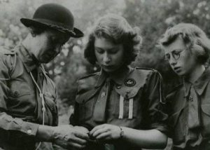 princess elizabeth 1942, queen elizabeth, girl guides