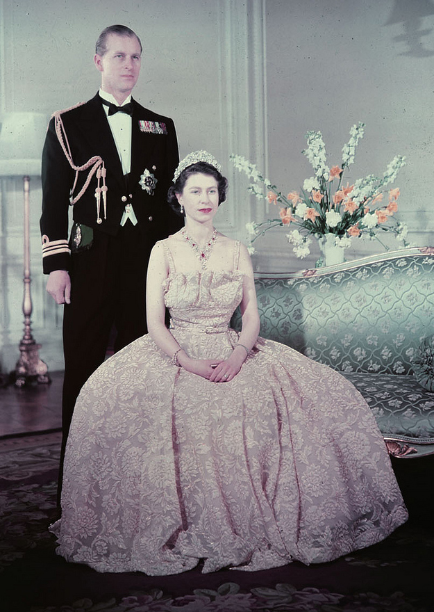 queen elizabeth 1950, prince philip, duke of edinburgh