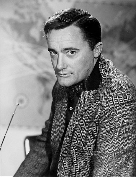 robert vaughn 1960s, english actor, british actor, 1960s television series, the man from uncle, napoleon solo, younger