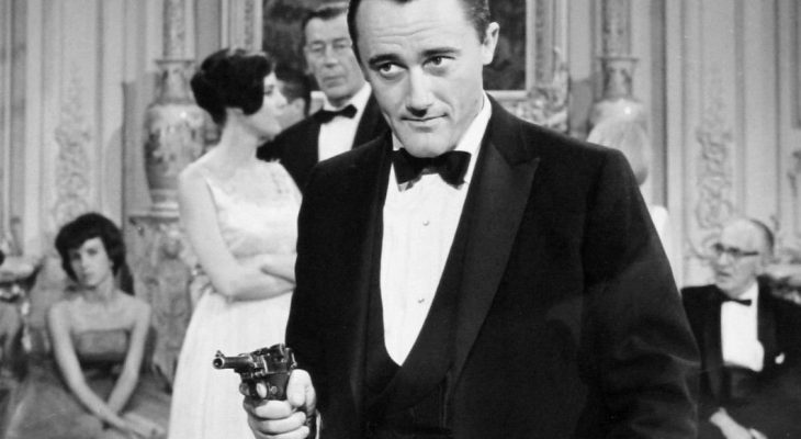 robert vaughn 1964, british actor, english actor, 1960s television series, the man from uncle, napoleon solo, younger