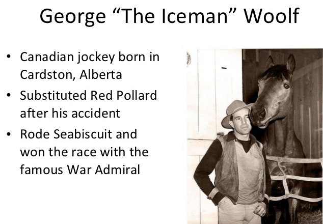 george woolf, jockey, died january 1946, seabiscuit, horse racing, thoroughbred racehorse