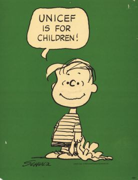 1946 december, unicef forms, unicef poster 1946, charlie brown poster
