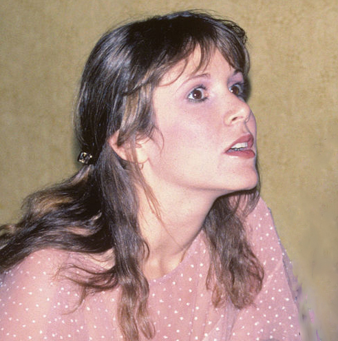 carrie fisher 1978, american actress, writer