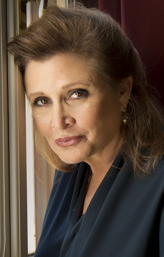 carrie fisher 2013, american actress, screenwriter, novelist