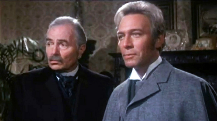 christopher plummer, james mason, canadian actor, british actor, movies, 1970s, feature films, murder by decree, sherlock holmes, watson