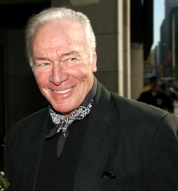 christopher plummer 2007, canadian actor, senior citizen, octogenarian