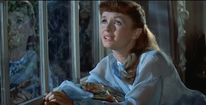 debbie reynolds 1957, american singer, actress, movies, tammy and the bachelor