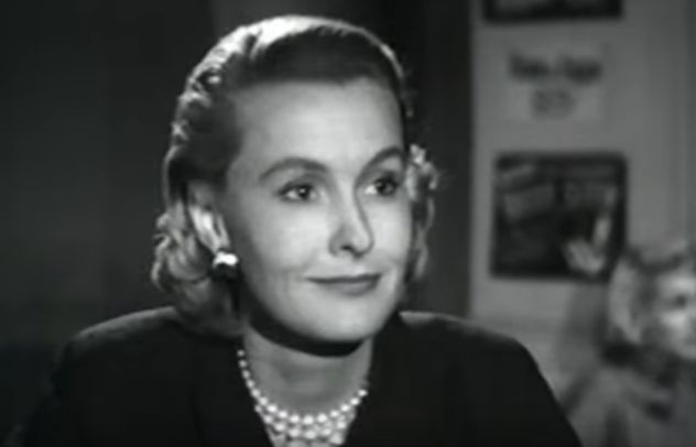 dina merrill 1955, american actress, heiress, four star playhouse, a place full of strangers, 1950s television, 1950s tv shows