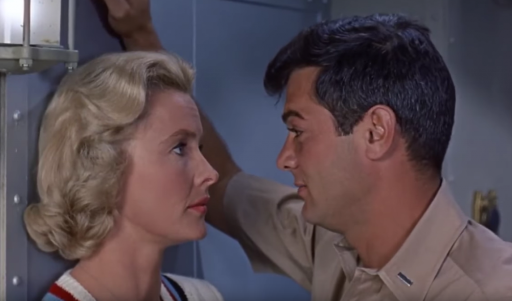 dina merrill 1959, tony curtis, american actors, 1950s movies, 1950s comedies, younger