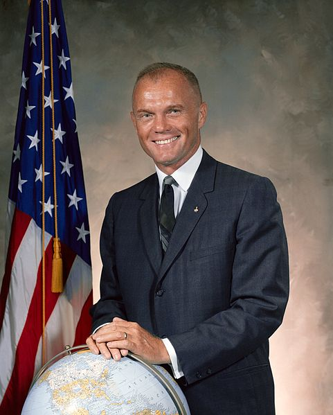 john glenn 1964, american astronaut, american politician, first man to walk on the moon