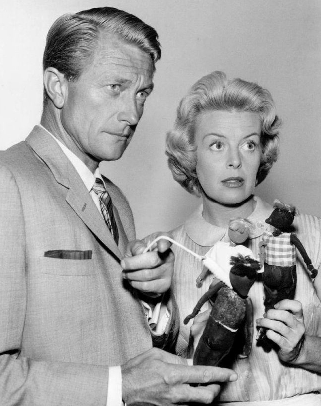 richard denning 1960, american actor, 1960s television series, michael shayne, patricia donahue, lucy hamilton