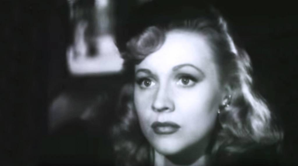 anne jeffreys 1945, american actress, 1940s movies, dick tracy film, classic movies,