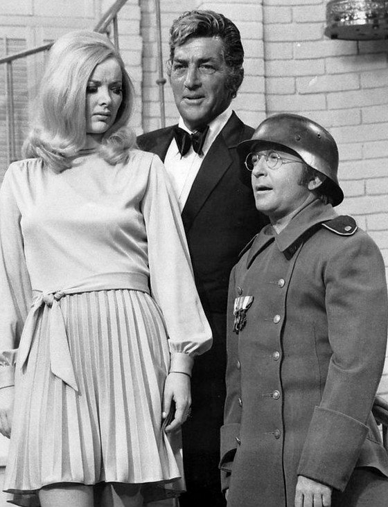 arte johnson 1970, american comedian, actor, 1970s television series, 1970s tv variety shows, guest star, the dean martin show, host dean martin, diana shatz
