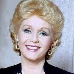 debbie reynolds 1987, american singer, actress, 1950s movies, 1960s movies, 1970s movies, singing in the rain, tammy and the bachelor, the unsinkable molly brown, susan slept here, the tender trap, married eddie fisher, divorced, daughter carrie fisher, born april 1 1932, died december 28 2016, octogenarian, senior citizen, celebrity deaths, debbie reynolds dead