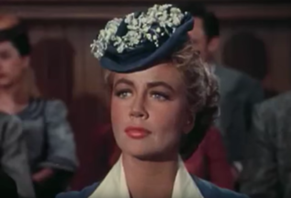 dorothy malone 1956, american actress, 1950s movies, 1950s westerns, tension at table rock