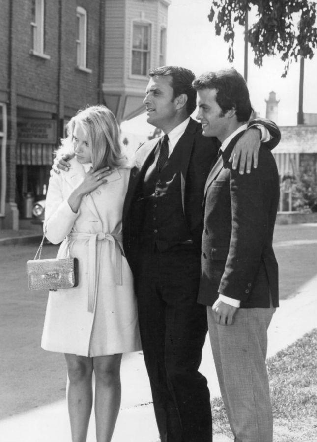 ed nelson 1968, peyton place cast 1968, michael rossi, michael christian, joe rossi, joyce jilson, jill smith