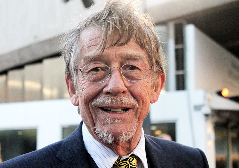 john hurt 2011, english actor, tinker tailor soldier spy movie premiere, movie actor, john hurt older