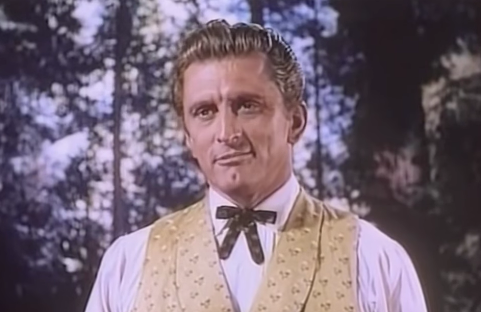 kirk douglas 1952, american actor, 1950s movies stars, 1950s movies, the big trees