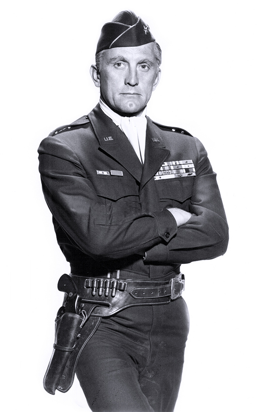 kirk douglas 1957, american actors, classic movie stars, top secret affair, kirk douglas younger