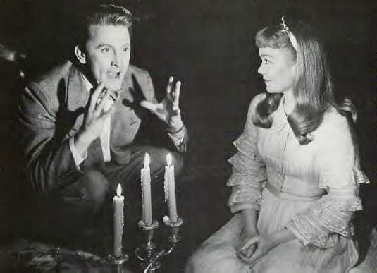kirk douglas 1950, american actor, jane wyman, american actress, 1950s movies, the glass menagerie