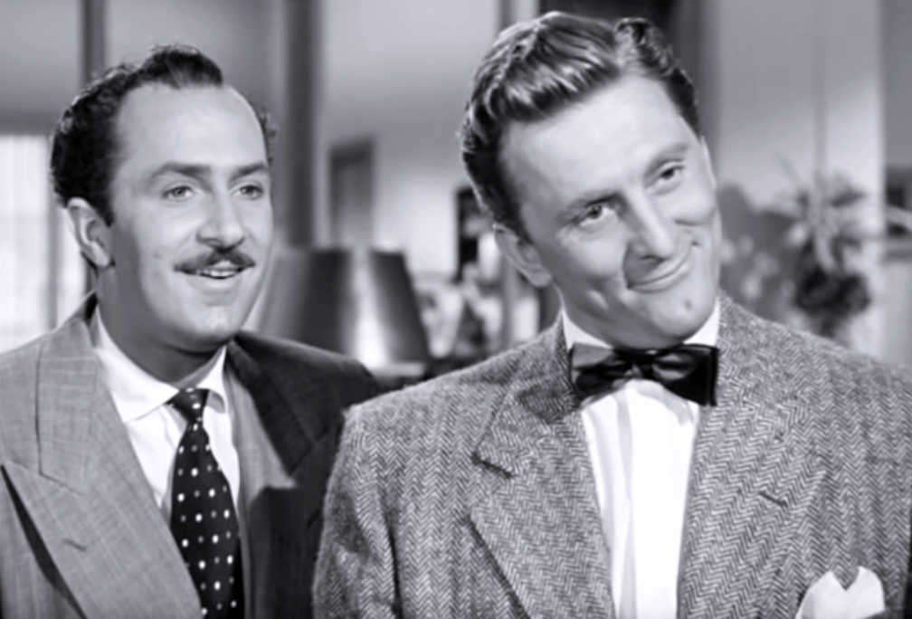 kirk douglas 1948, keenan wynn, american actors, classic movie stars, 1940s films, my dear secretary