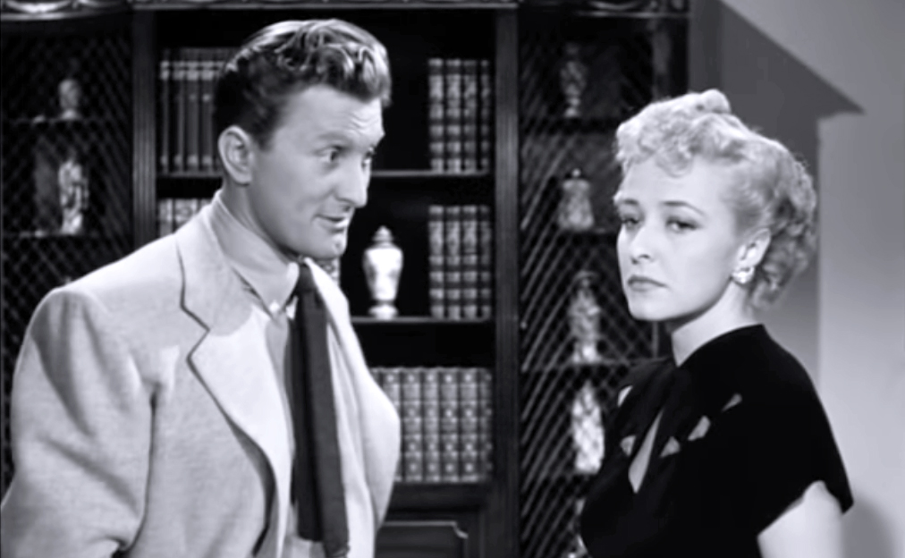 kirk douglas 1948, laraine day,, american actors, classic movie stars, 1940s films, my dear secretary