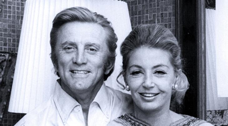 kirk douglas and wife, kirk douglas 1969, anne buydens