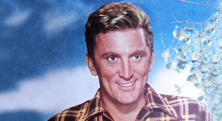 kirk douglas 1950s, american actor, 1940s movies, classic movie stars, 1950s films, the big trees