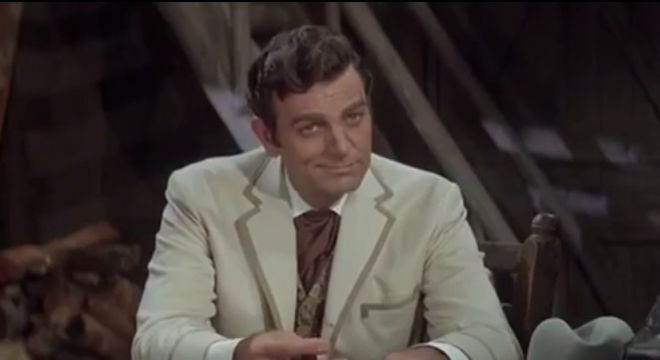 mike connors 1966, american actor, 1960s movies, 1960s westerns, stagecoach