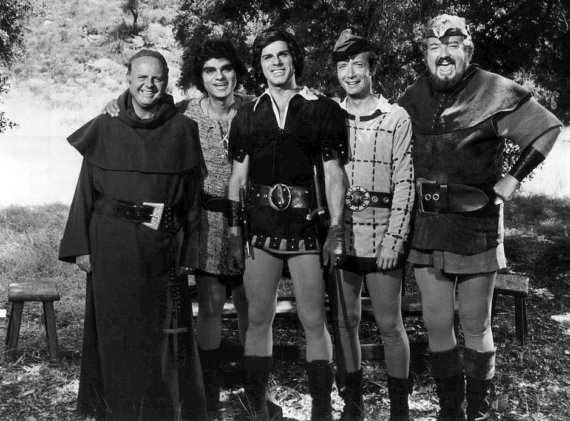 dick gautier, richard gautier, actor, when things were rotten, robin hood, cast, dick van patten, bernie kopell