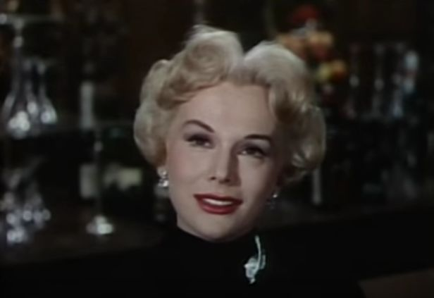 eva gabor 1954, hungarian american actress, 1950s movies, the last time i saw paris, younger