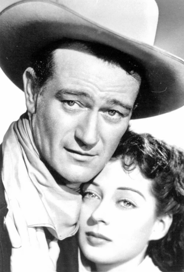 john wayne, gail russell, movie stars, american actors, classic movies, 1940s westerns, angel and the badman,