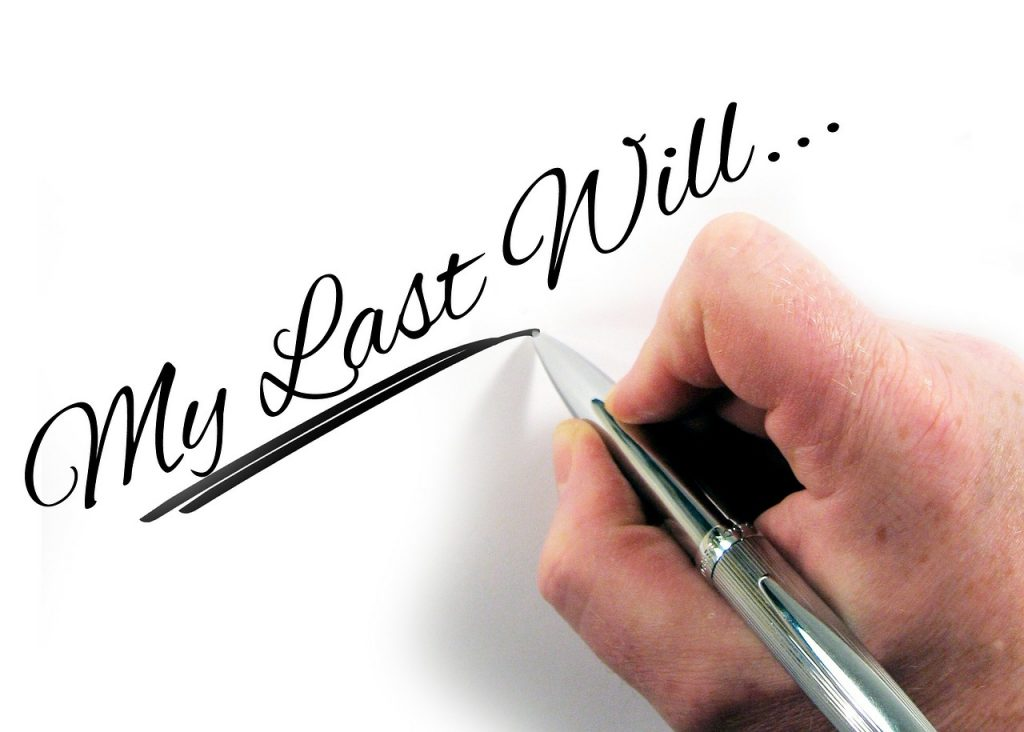 wills and estates, wills and estate planning, last will and testament