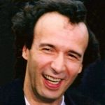 roberto benigni 65, roberto benigni 1998, italian screenwriter, movie director, actor, 1980s movies, nothing left to do but cry, down by law, coffee and cigarettes, 1990s movies, the voice of the moon, night on earth, johnny stecchino, son of the pink panther, the monster, life is beautiful, academy award, asterix and obelix vs caesar, pinocchio, 2000s movies, the tiger and the snow, to rome with love,senior citizen, celebrity birthday, famous people birthdays, october 27th birthdays, born october 27 1952