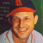 stan musial 1953, nee stanislaw francsizek musial, american baseball player, first baseman, outfielder, major league baseball teams, st louis cardinals, baseball hall okf fame, national league mvp 1940s, 1942 world series champion, world series championship 1944, 1946 world series winner, nonagenarian, octogenarian, septuagenarian, senior citizen, celebrity birthday, famous people birthdays, november 21st birthday, born november 21 1920, died january 19 2013, celebrity deaths