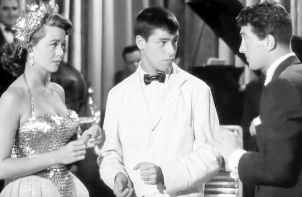 dorothy malone 1953, american actress, jerry lewis, dean martin, lewis and martin movies, 1950s comedy films, scared stiff