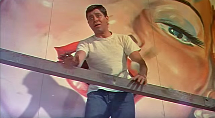 jerry lewis 1955, american comedian, comedic actor, 1950s comedy films, artists and models