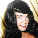 bettie page birthday, nee bettie mae page, bettie page 1950s, american model, 1950s glamour model, queen of pinups model, 1950s playboy model, miss january 1955, queen of bondage model, born again christian, trademark black bangs, fashion icon, seamed stockings, stiletto heels, 1950s erotica photography, octogenarian birthdays, senior citizen birthdays, 60 plus birthdays, 55 plus birthdays, 50 plus birthdays, over age 50 birthdays, age 50 and above birthdays, celebrity birthdays, famous people birthdays, april 22nd birthday, born april 22 1923, died december 11 2008, celebrity deaths