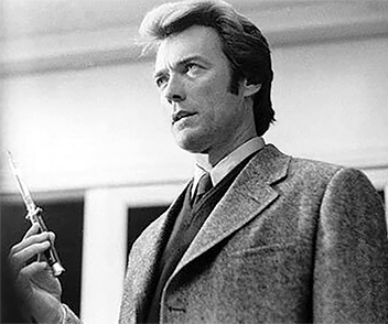 clint eastwood 1971, american actor, 1970s movies, dirty harry, inspector harry callahan