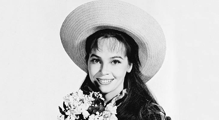 leslie caron 1958, french actress, 1950s movie musicals, gigi star, leslie caron younger